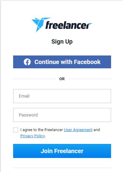 How to create an account on Freelancer.com
