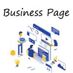 Professional Business Page